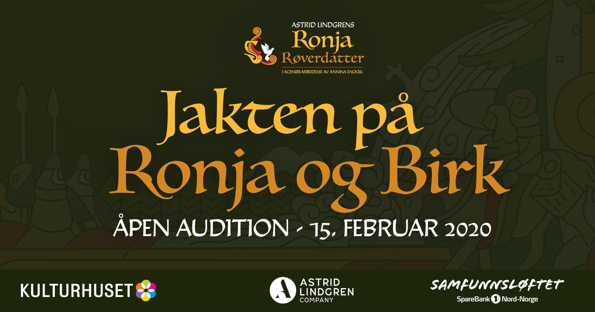 Jakten på Ronja og Birk
